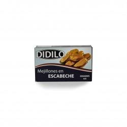 MEJILLONES EN ESCABECHE 4/6 DIDILO RR125