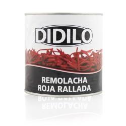 REMOLACHA ROJA RALLADA DIDILO LATA 2650 ML.