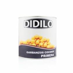 GARBANZOS COCIDO 3 KG. DIDILO