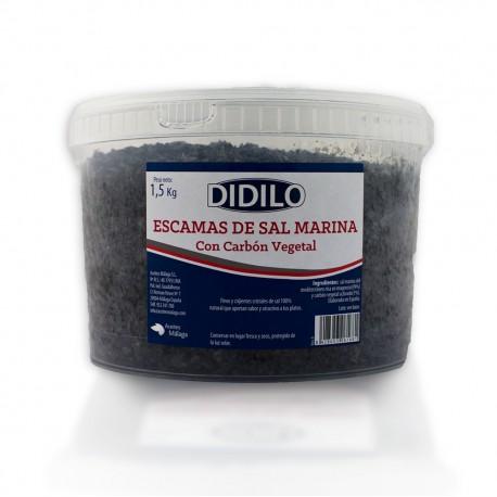 SAL NEGRA EN ESCAMAS DIDILO CUBO 1.5 KG