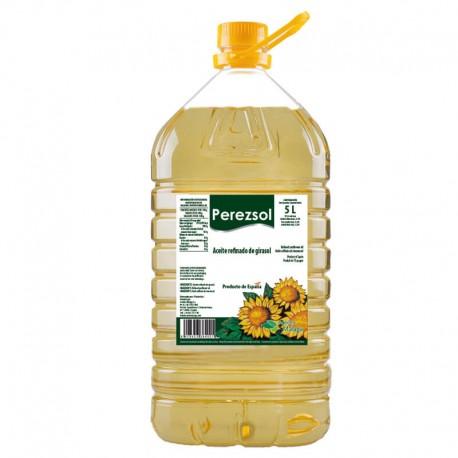"""GIRASOL """"SIN ADITIVO"""" PEREZSOL 5 L"""