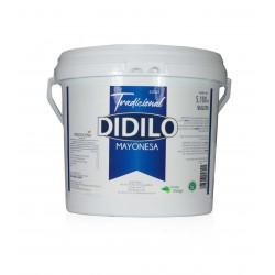 MAYONESA TRADICIONAL DIDILO 5.100 ml