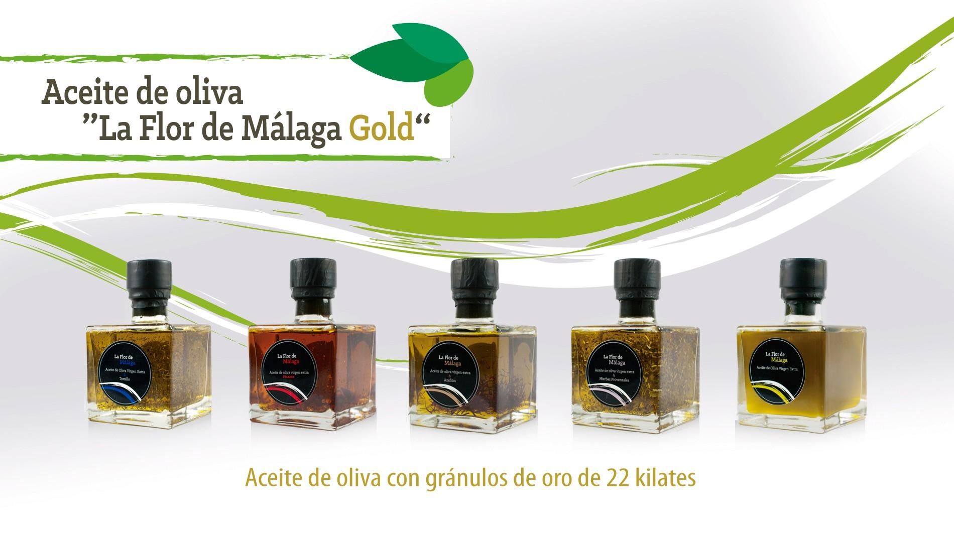 Aceite de Oliva la Flor de Málaga Gold