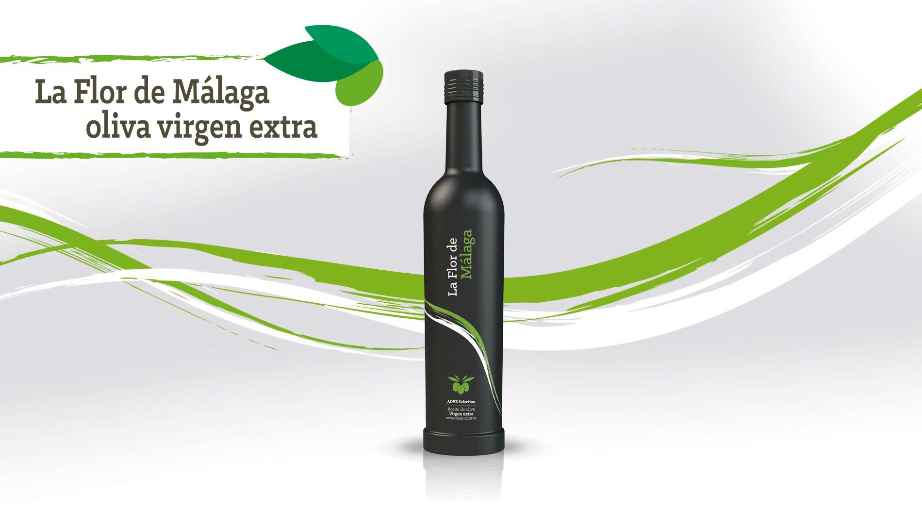 """Aceite de oliva virgen extra """"La flor de málaga"""""""
